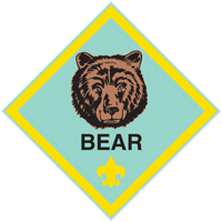 cub scouts bear badge